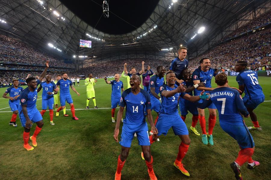 Германия 0:2 Франция