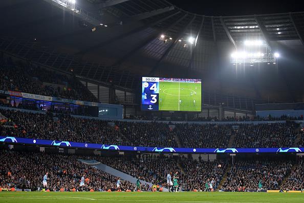 Манчестер Сити - Тоттенхэм. Фото с матча