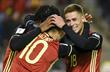 Братья Азары впервые забили в одном и том же матче за сборную Бельгии, twitter.com/FIFAWORLDCUP