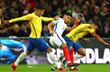 Доминик Соланке в борьбе против бразильцев, Getty Images