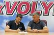 Андрей Тлумак (слева), фото: ФК Волынь