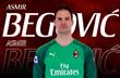 Асмир Бегович, фото ФК Милан