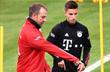 Ханси Флик и Тьяго Данташ, фото ФК Бавария