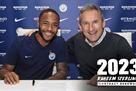 Стерлинг продлил контракт с Манчестер Сити