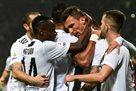 Ювентус оказался сильнее Милана в первом тайме