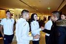Сборная Украины начала подготовку к матчу со Словакией