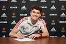 Джеймс стал игроком Манчестер Юнайтед