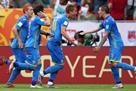 Украина и Южная Корея обменялись голами в первом тайме