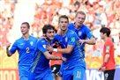 Южная Корея во втором тайме нанесла 12 ударов по воротам Украины