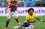 Дарио Срна против Марсело, Getty Images