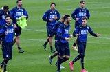 Тренировка сборной Италии, Getty Images