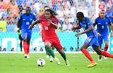 Ренату Санчес в игре против французов, Getty Images