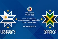 Копа Америка — 2015. Уругвай — Ямайка 1:0