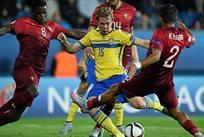 Евро-2015 (U-21). Португалия — Швеция 1:1