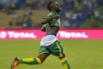 Садио Мане открыл счет в матче, AFP
