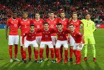 Сборная Швейцарии, фото: twitter.com/EuroQualifiers