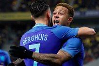 Голландцы праздную успех, фото: Twitter