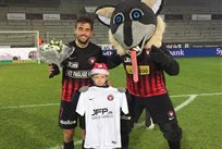 Якоб Поульсен был признан лучшим игроком матча против ОБ, twitter.com/fcmidtjylland