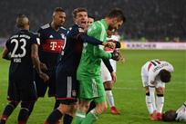 Бавария празднует победу, фото: twitter.com/FCBayern