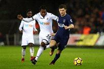 Тоттенхэм обыграл Суонси, фото: twitter.com/SpursOfficial