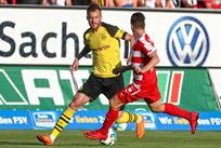 Андрей Ярмоленко в матче против Цвиккау, ruhrnachrichten.de