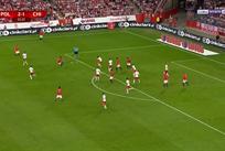 Пушечный выстрел Альборноса в матче против Польши