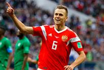Денис Черышев оформил дубль, Getty Images