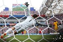 ЧМ-2018: пушечный удар Каррильо в матче Австралия — Перу