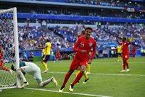 Швеция — Англия 0:2 Видео голов и обзор матча ЧМ-2018