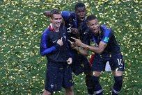 Как французы победу на чемпионате мира праздновали