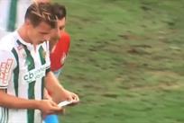 Худший враг Моуриньо: в Румынии игрок стащил у соперника тренерскую записку