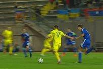 Потрясающий гол Шведа в матче молодежек Украины и Андорры