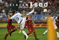 Златан Ибрагимович забил 500 голов, фото: twitter.com/LAGalaxy
