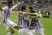 Игроки Вальядолида празднуют гол/Marca