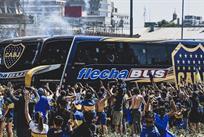 Автобус Бока Хуниорс, twitter.com/MARCAClaroARG