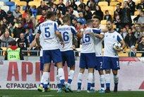 Игроки Динамо празднуют гол, фото Динамо