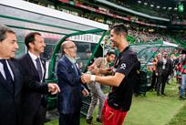 Роналду празднует забитый гол, twitter.com/selecaoportugal
