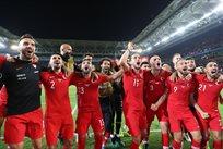 Турция празднует победу, tff.org