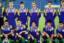 Сборная Украины 1996 года, фото из открытых источников