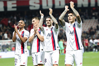 ПСЖ празднует победу, фото: Paris Saint-Germain