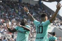 Ромелу Лукаку и Лаутаро Мартинес, фото ФК Интер