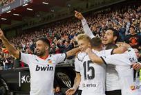 Игроки Валенсии, фото Валенсия