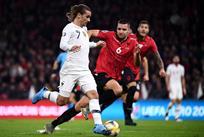 Албания - Франция, twitter.com/equipedefrance