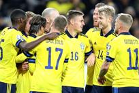 Швеция празднует победу над Фарерами, Getty Images
