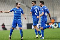 Греция празднует победу над Финляндией, epo.gr