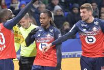 Лилль празднует победу, LOSC Lille