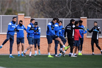 Игроки Леганеса на тренировке, C.D. Leganés