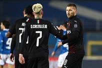 Милан празднует победу, Getty Images