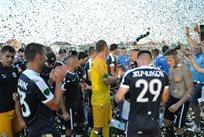 Празднование футболистов Миная, Фото ФК Минай