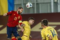 Испания - Украина, twitter.com/SeFutbol